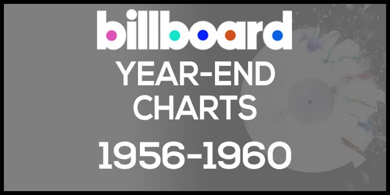 洋楽ビルボード年間アルバムランキング【1956年~1960年】全米チャートトップ200総まとめ