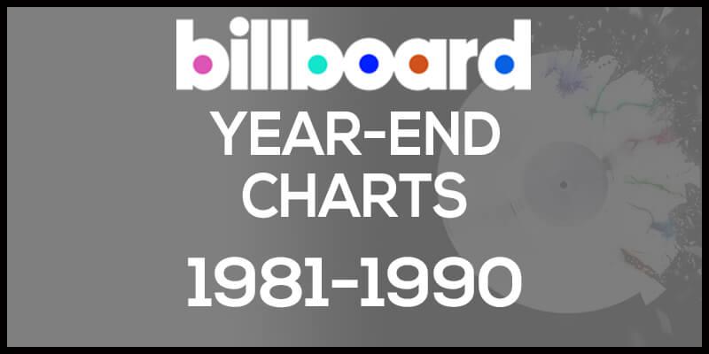 洋楽ビルボード年間アルバムランキング【1981年~1990年】全米チャートトップ200総まとめ