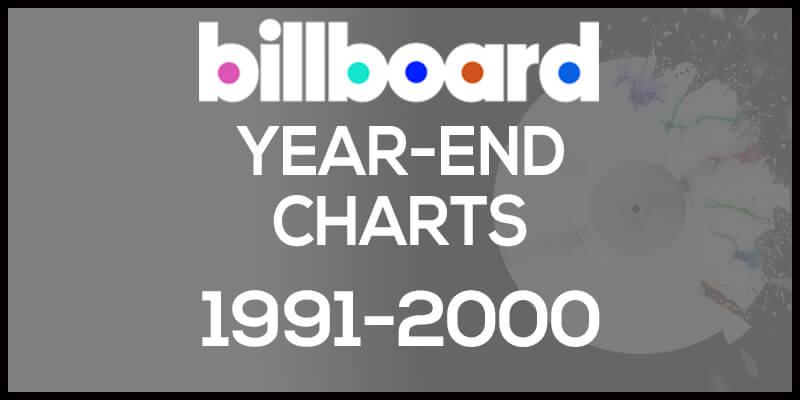 洋楽ビルボード年間アルバムランキング【1991年~2000年】全米チャートトップ200総まとめ