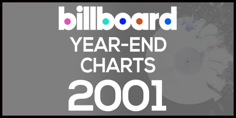 洋楽ビルボード年間アルバムランキング【2001年】全米チャートトップ200総まとめ