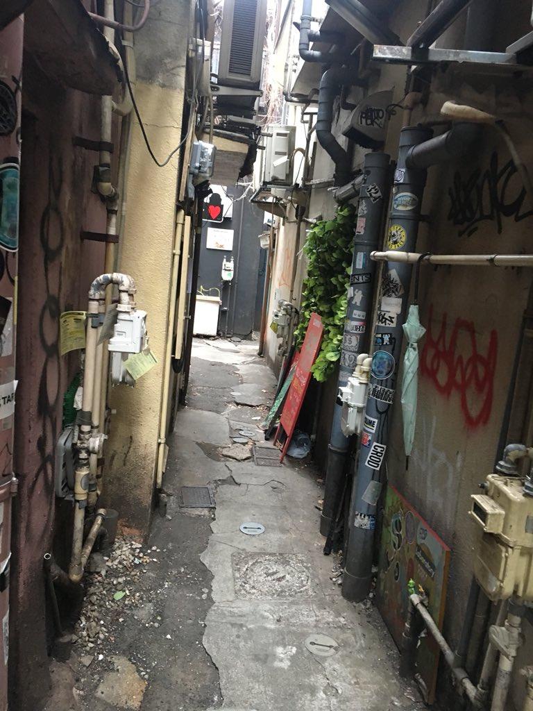 三軒茶屋の裏路地