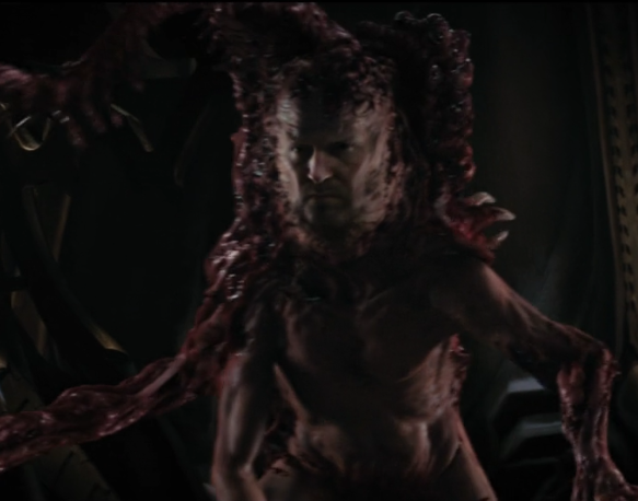 映画「遊星からの物体X ファーストコンタクト」にて登場するクリーチャー2