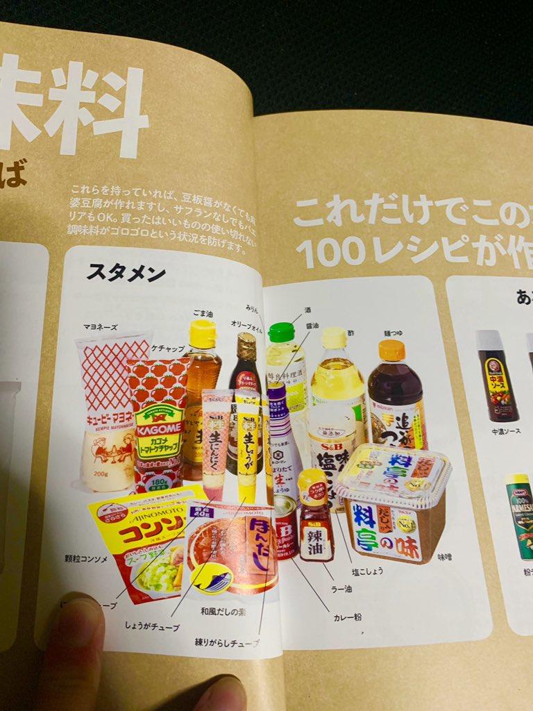 「世界一美味しい手抜きごはん」調味料のページ2