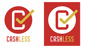 キャッシュレス消費者還元事業の加盟店を示すマーク