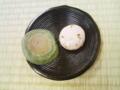 焼き蓬餅&熱海桜
