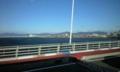 バスから 吉野川