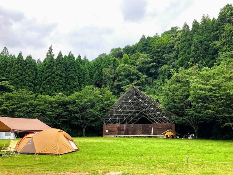 岩屋キャンプ場_フリーサイト
