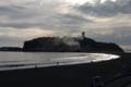 江ノ島で火事?