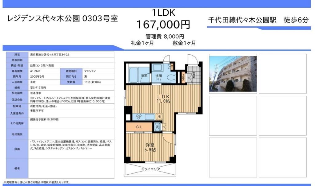 f:id:yoyogiuehararealestate:20160615130653j:plain