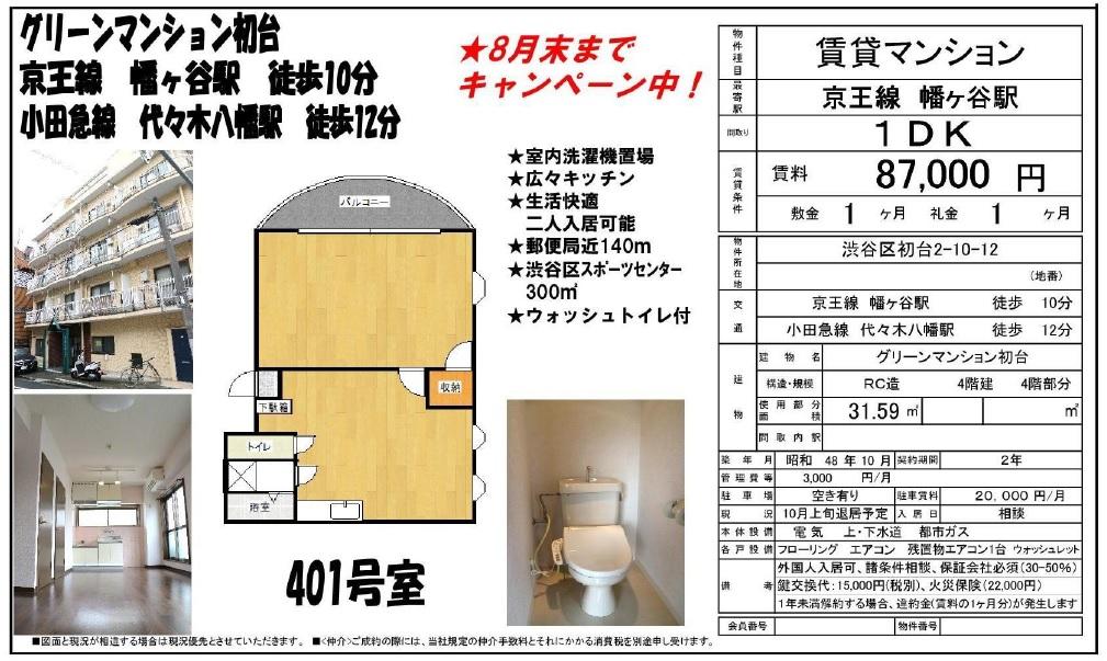 f:id:yoyogiuehararealestate:20160817143734j:plain
