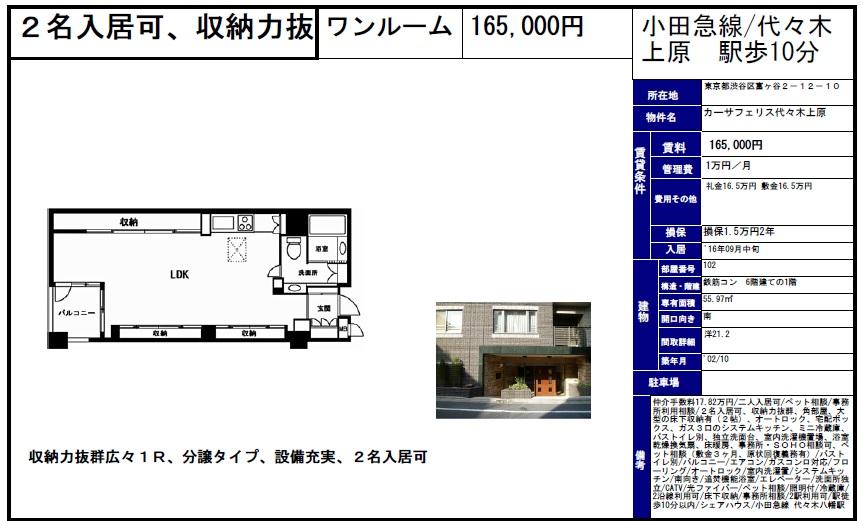 f:id:yoyogiuehararealestate:20160830165631j:plain
