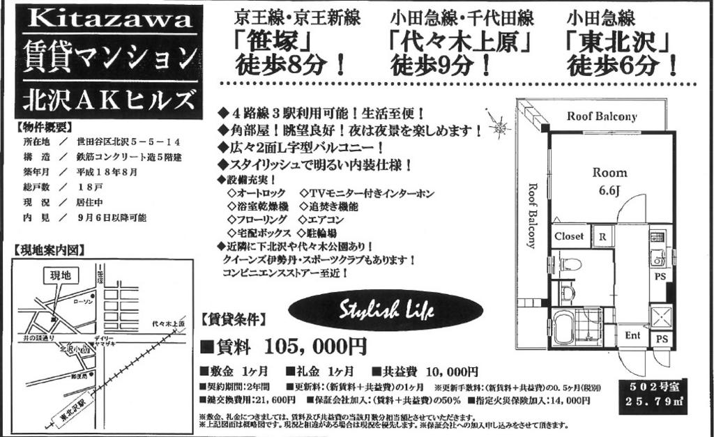 f:id:yoyogiuehararealestate:20160831101644j:plain