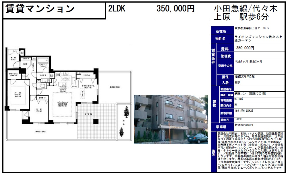 f:id:yoyogiuehararealestate:20160907095231j:plain