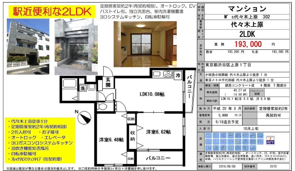 f:id:yoyogiuehararealestate:20160910101939j:plain