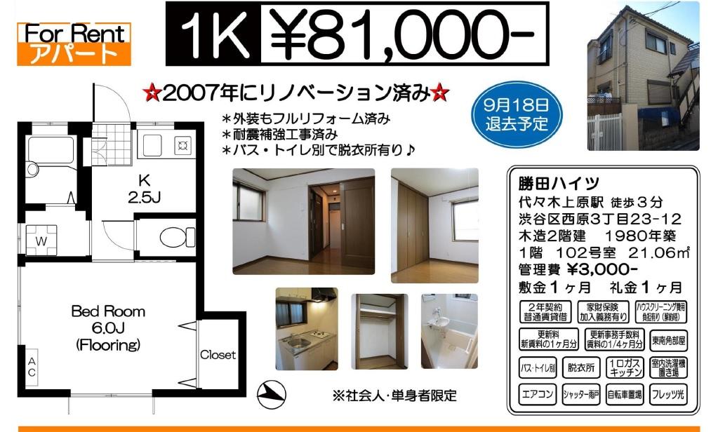 f:id:yoyogiuehararealestate:20160910212818j:plain