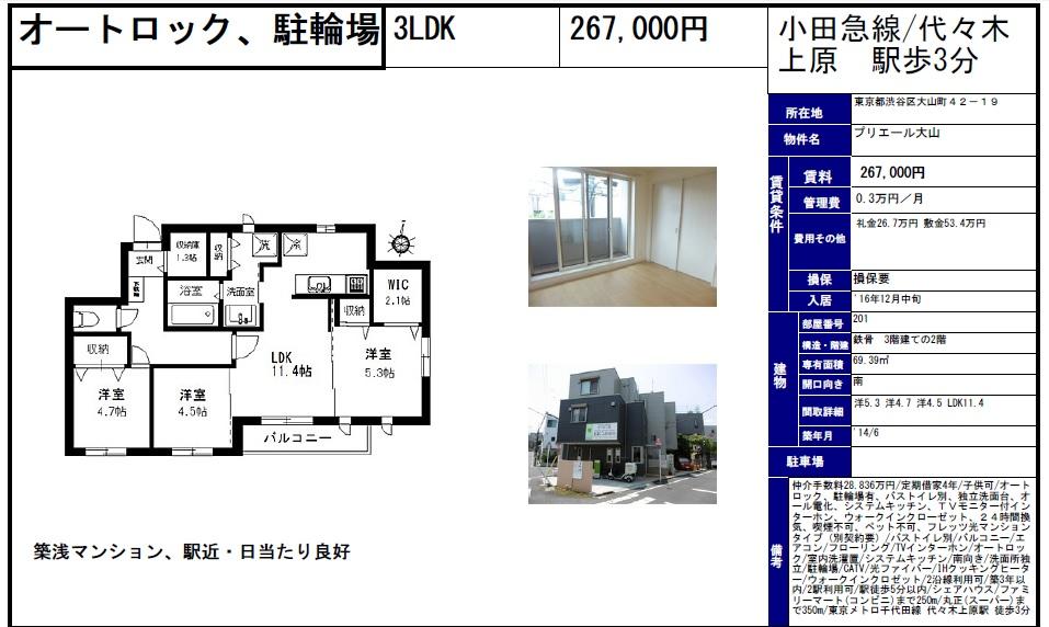 f:id:yoyogiuehararealestate:20160924101350j:plain