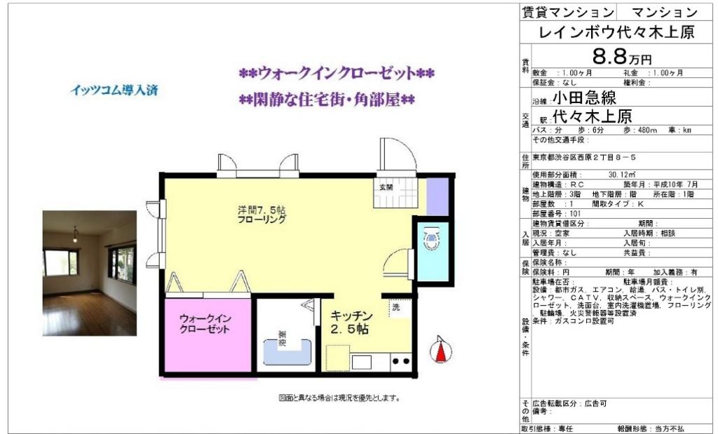 f:id:yoyogiuehararealestate:20160924224527j:plain
