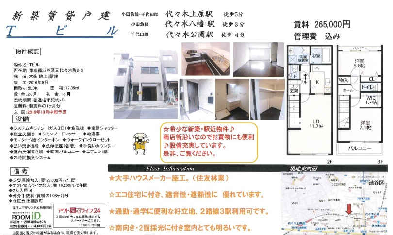 f:id:yoyogiuehararealestate:20161001171005j:plain