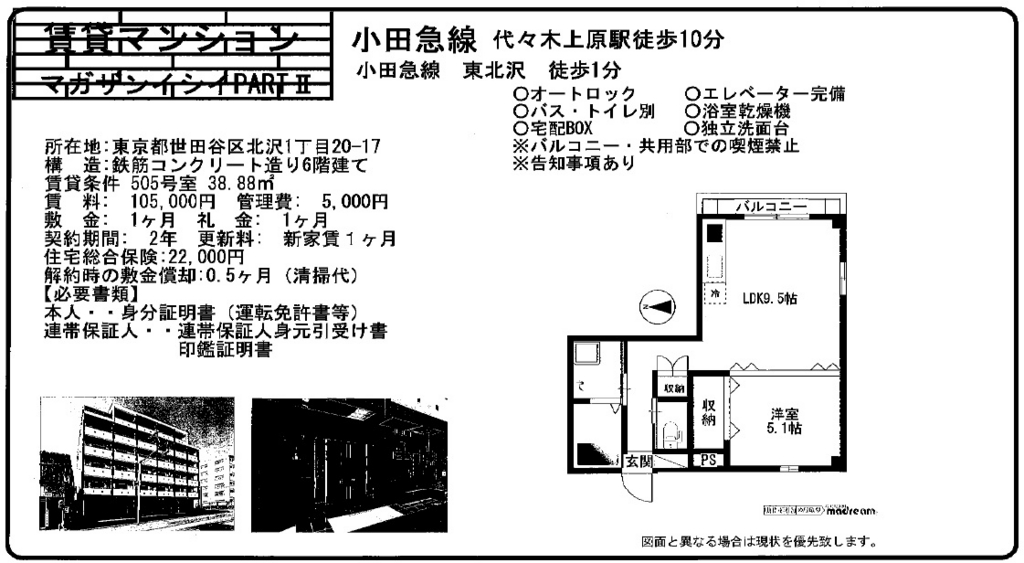 f:id:yoyogiuehararealestate:20161001230146j:plain