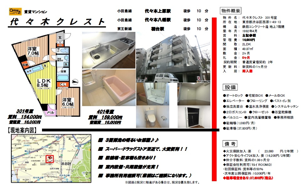 f:id:yoyogiuehararealestate:20161002161100j:plain