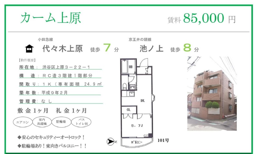 f:id:yoyogiuehararealestate:20161007190054j:plain