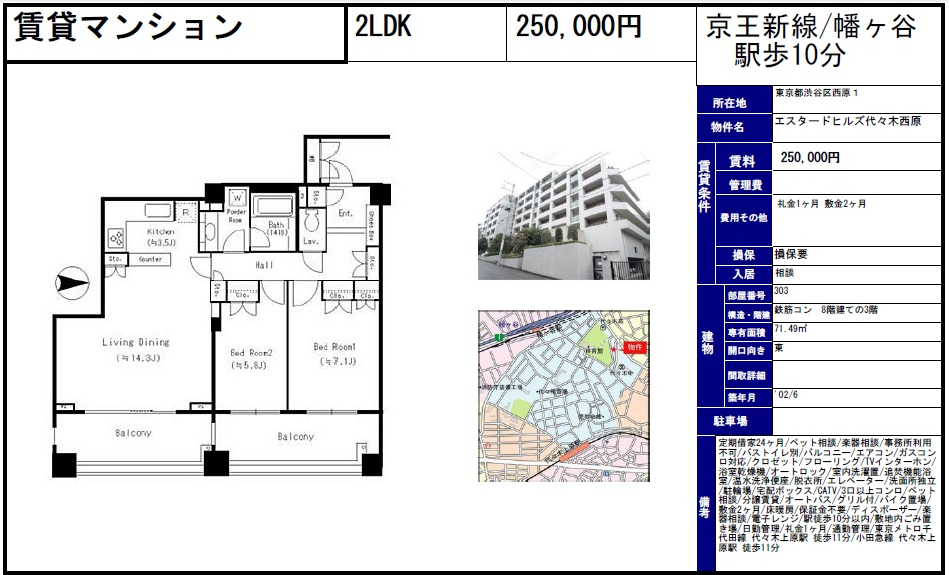 f:id:yoyogiuehararealestate:20161010202524j:plain