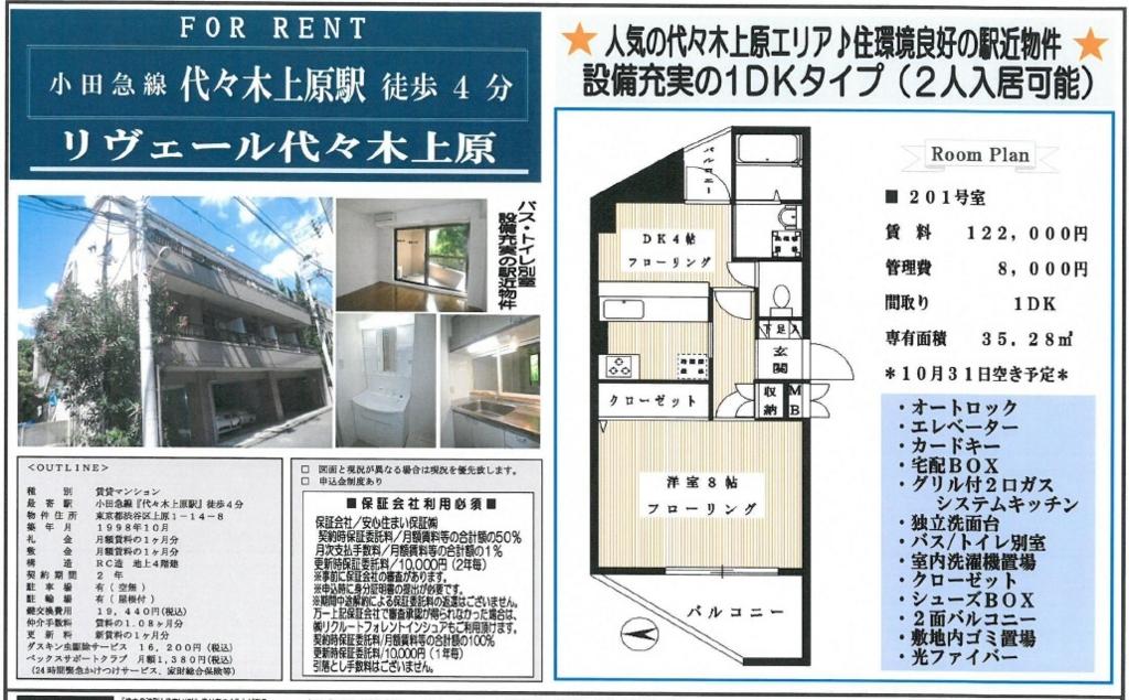 f:id:yoyogiuehararealestate:20161012194525j:plain