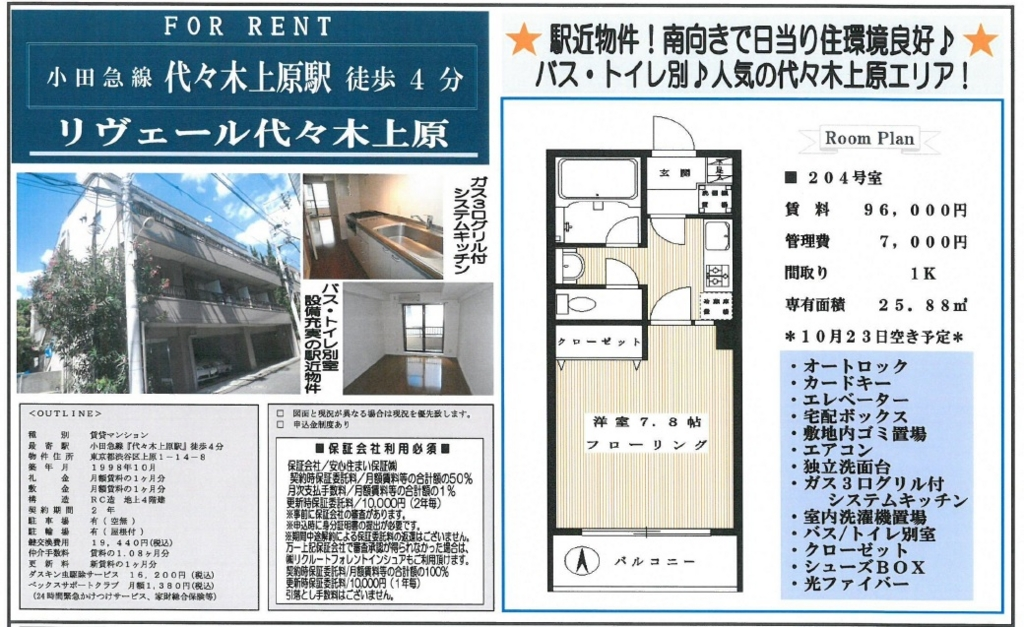 f:id:yoyogiuehararealestate:20161012194542j:plain