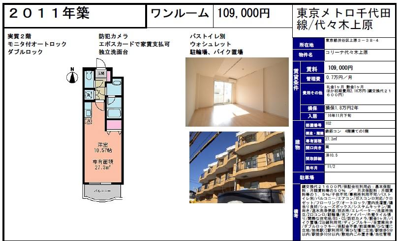 f:id:yoyogiuehararealestate:20161015094258j:plain