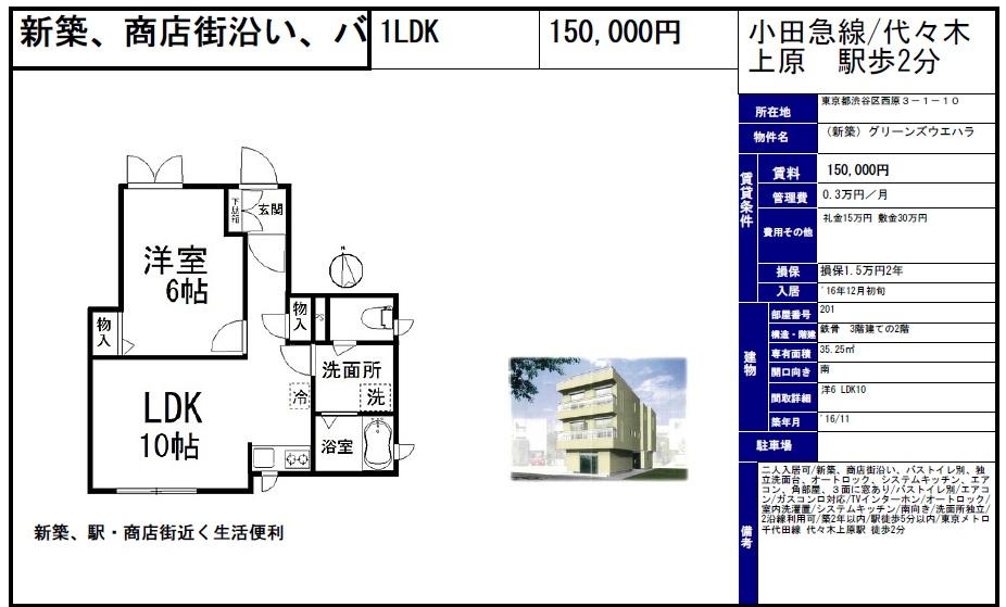 f:id:yoyogiuehararealestate:20161019101404j:plain