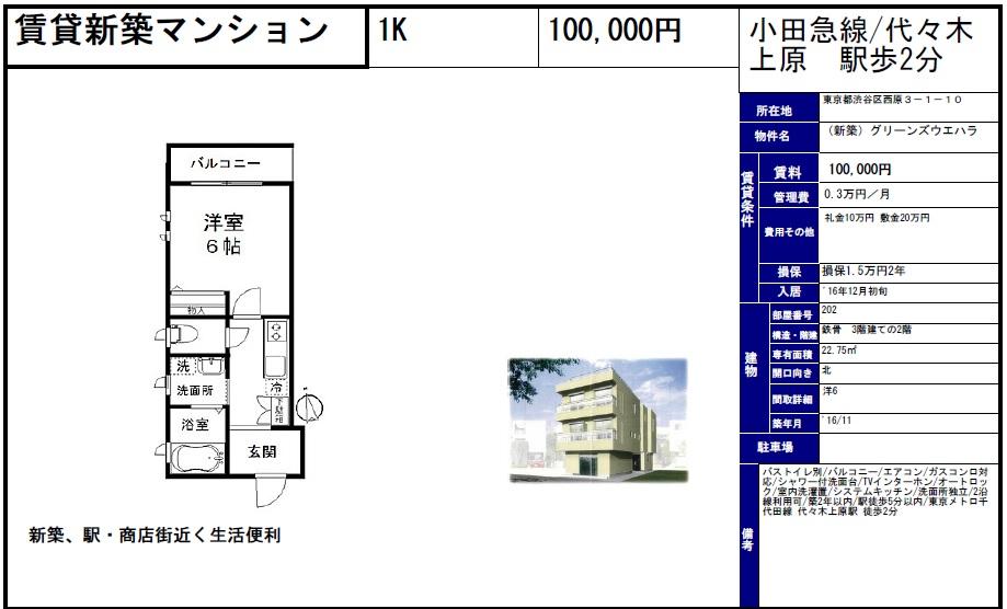 f:id:yoyogiuehararealestate:20161019101415j:plain