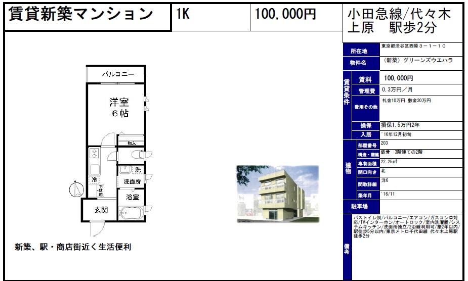 f:id:yoyogiuehararealestate:20161019101427j:plain