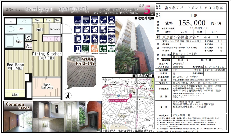 f:id:yoyogiuehararealestate:20161021141603j:plain