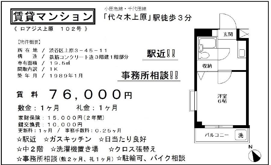 f:id:yoyogiuehararealestate:20161021184810j:plain