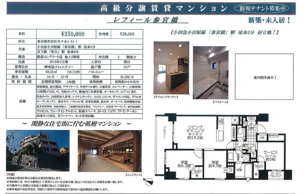 f:id:yoyogiuehararealestate:20161022100135j:plain