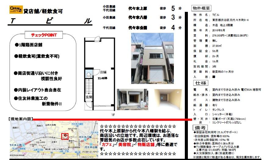 f:id:yoyogiuehararealestate:20161027140931j:plain