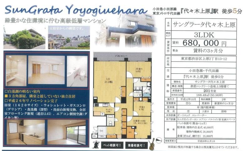 f:id:yoyogiuehararealestate:20161101203923j:plain