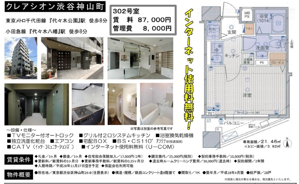 f:id:yoyogiuehararealestate:20161105022555j:plain