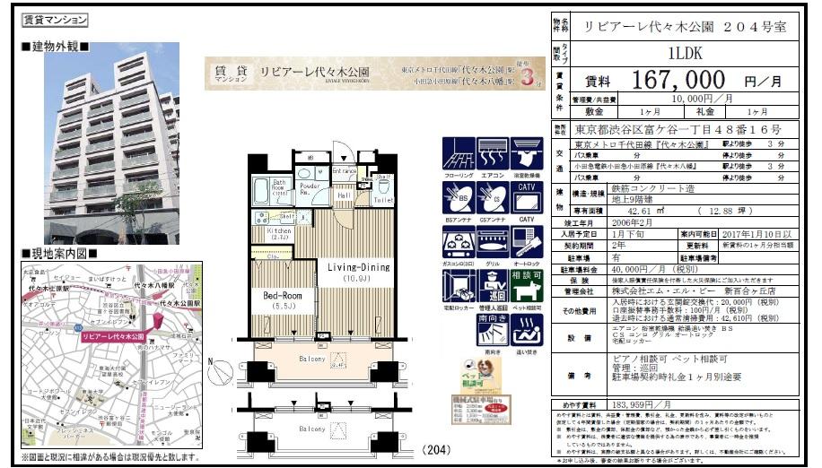 f:id:yoyogiuehararealestate:20161109231241j:plain