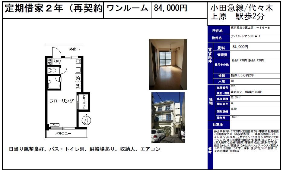 f:id:yoyogiuehararealestate:20161113100856j:plain