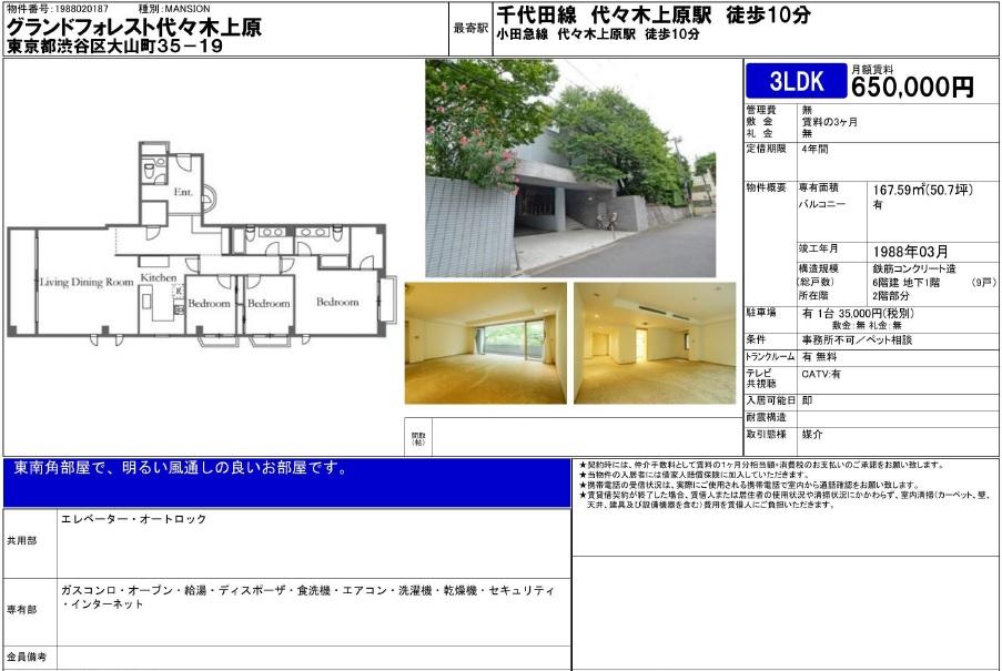 f:id:yoyogiuehararealestate:20161118194402j:plain