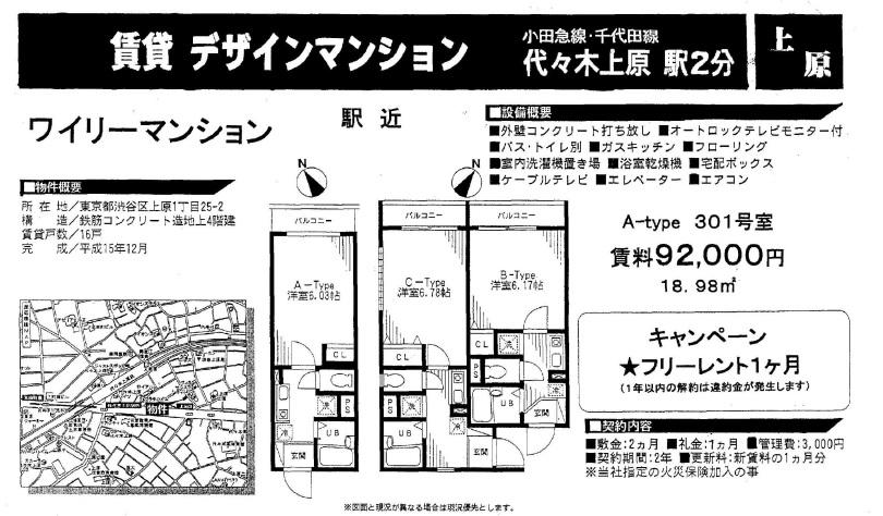 f:id:yoyogiuehararealestate:20161121085438j:plain