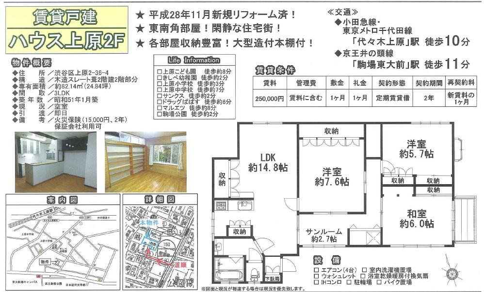 f:id:yoyogiuehararealestate:20161130185811j:plain