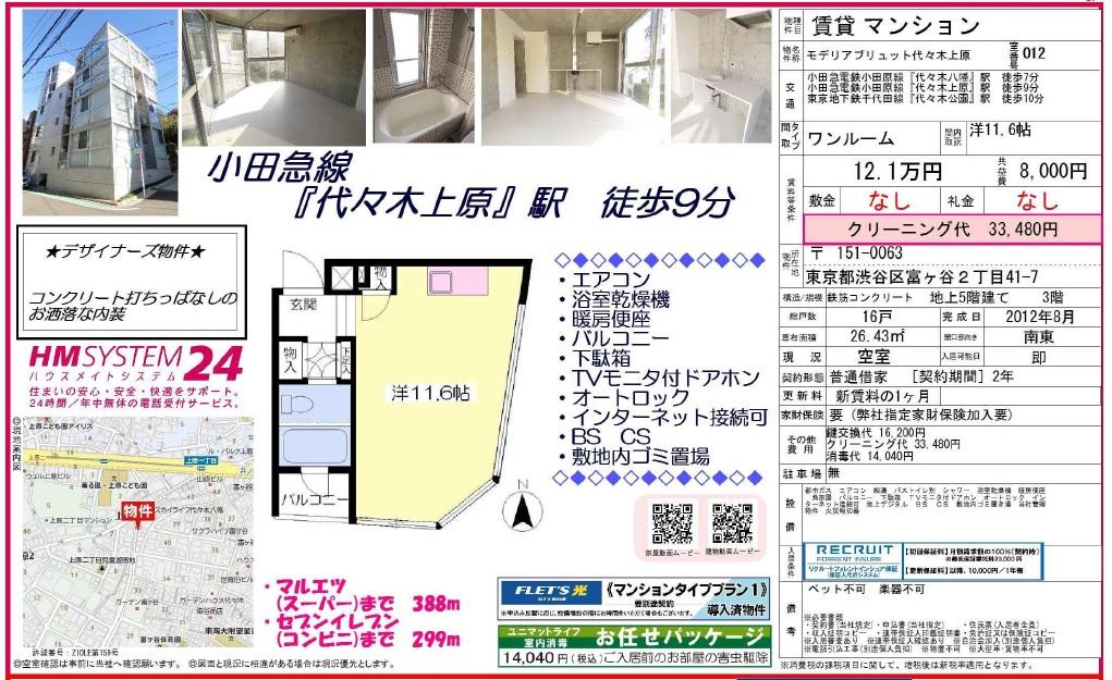 f:id:yoyogiuehararealestate:20161202173232j:plain