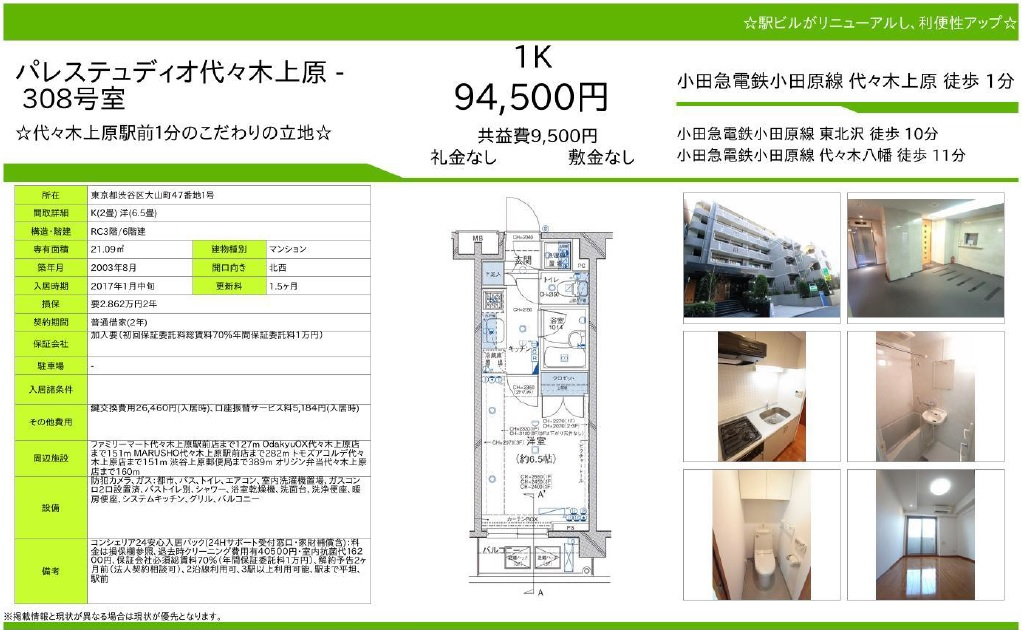 f:id:yoyogiuehararealestate:20161211185004j:plain