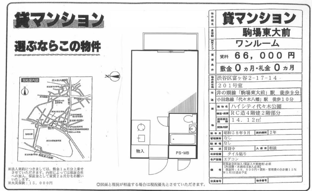 f:id:yoyogiuehararealestate:20161211185045j:plain