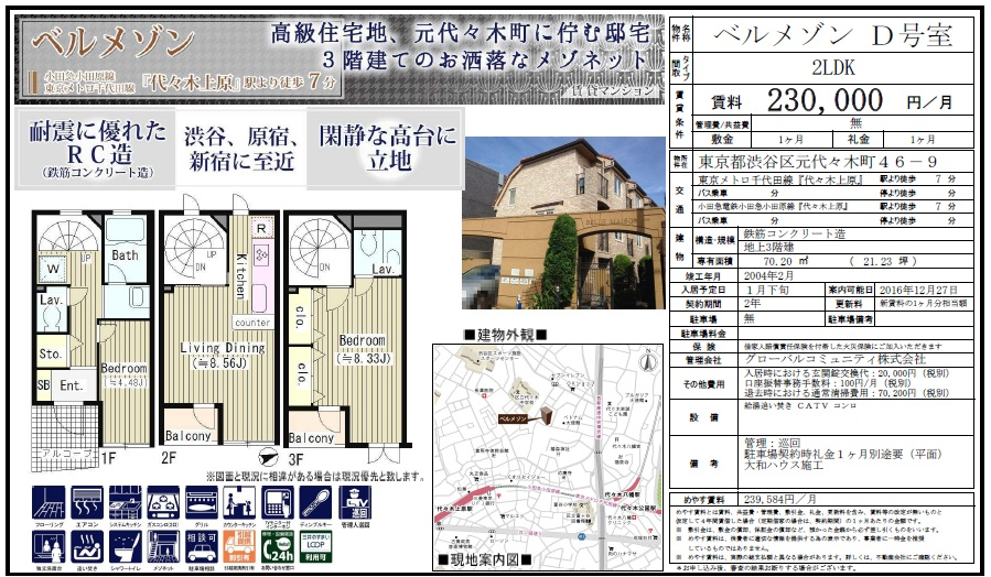 f:id:yoyogiuehararealestate:20161213224622j:plain