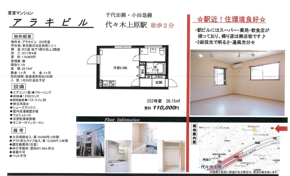 f:id:yoyogiuehararealestate:20161218102705j:plain