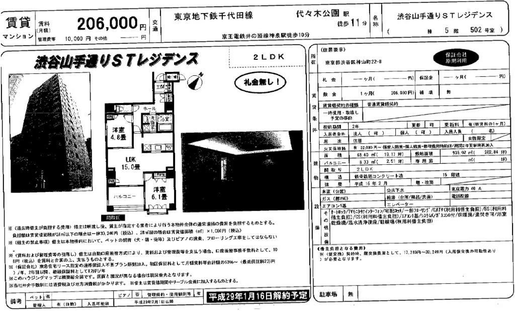 f:id:yoyogiuehararealestate:20161224101053j:plain