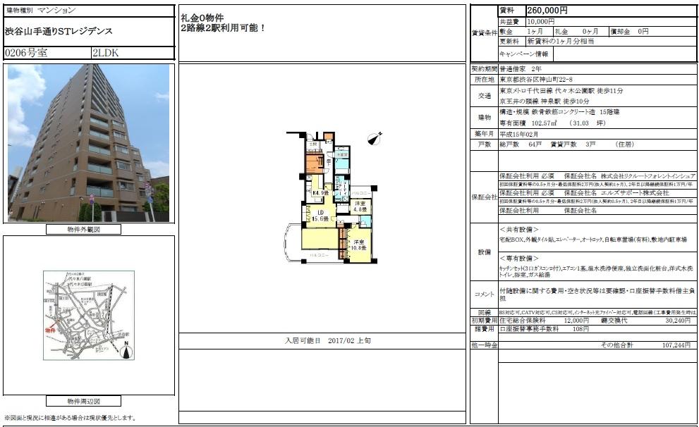 f:id:yoyogiuehararealestate:20170107000207j:plain